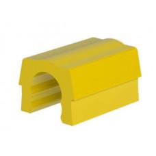 4 желтых зажима