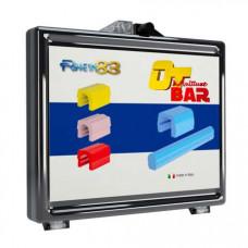 Набор балок из беззольной пластмассы для литой структуры + коннекторы